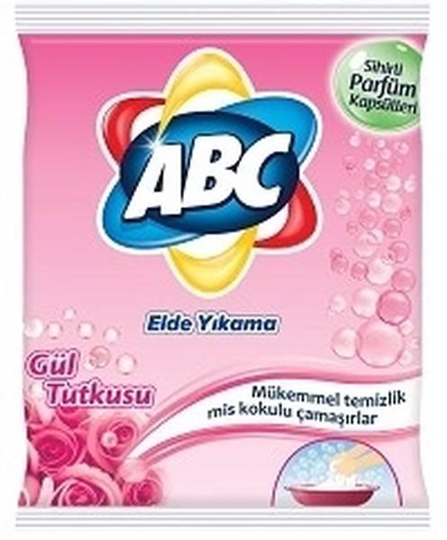 Abc Elde Yıkama Toz Çamaşır Deterjanı Gül Tutkusu 600 G