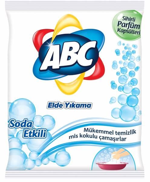 Abc Elde Yıkama Toz Çamaşır Deterjanı Soda Etkili 600 G