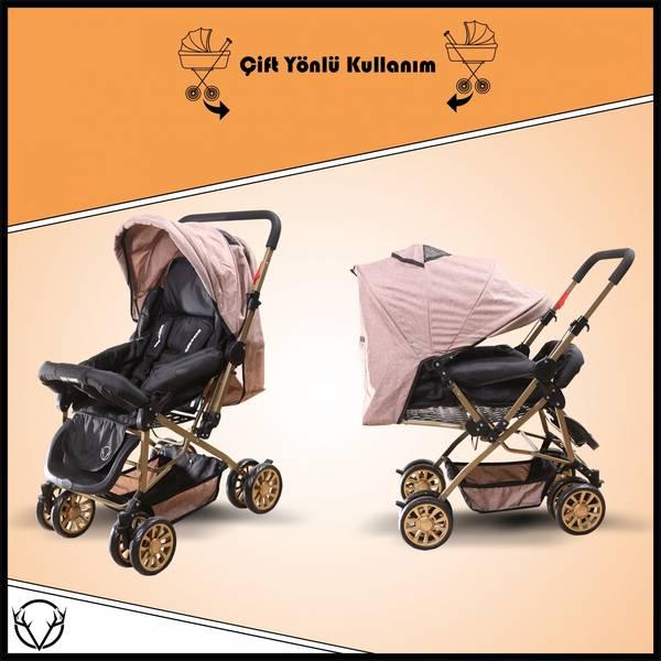 Çift Yönlü Bebek Arabası-Esy Baby Comfort
