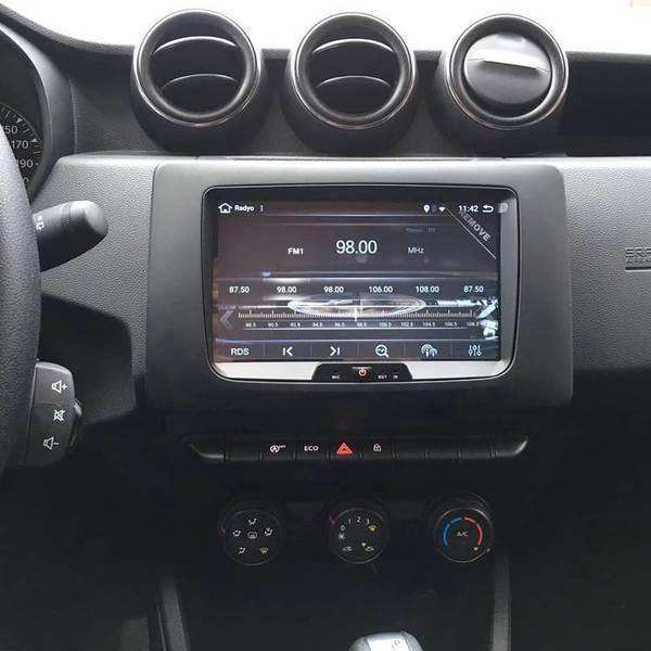 Dacia-Renault Android Navigasyon Dvd Usb Bluetooth Hd Kamera Hediye