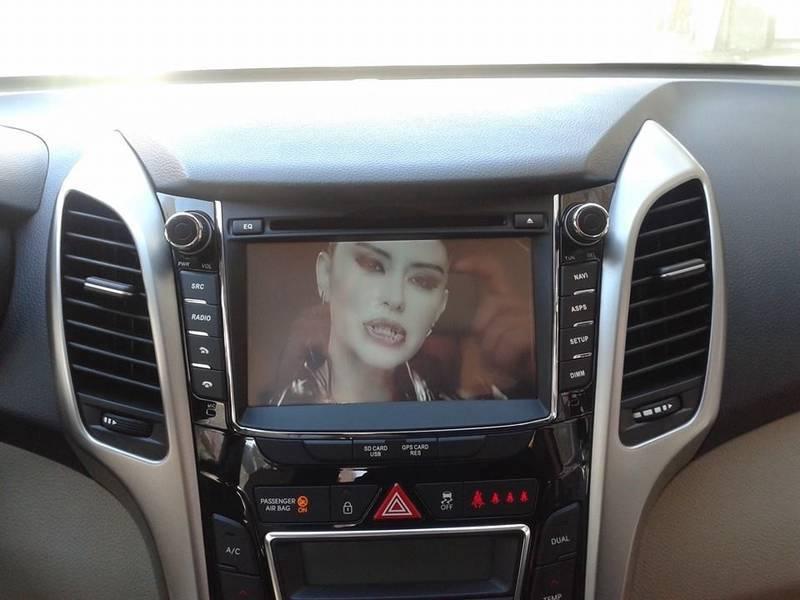 Hyundaı İ30 New Navigasyon Dvd Usb Bluetooth Hd Kamera Hediye