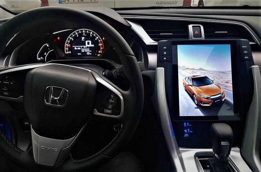 Honda Civic Tesla Navigasyon Dvd Usb Bluetooth Hd Kamera