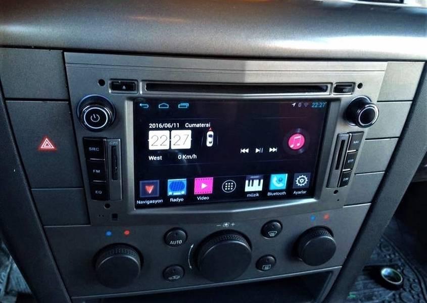Opel Astra H Android Navigasyon Dvd Usb Bluetooth Hd Kamera Hediye