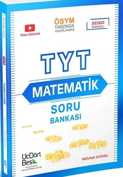 Üçdörtbeş Yayınları Tyt Matematik Soru Bankası Üçdörtbeş Yayınlar