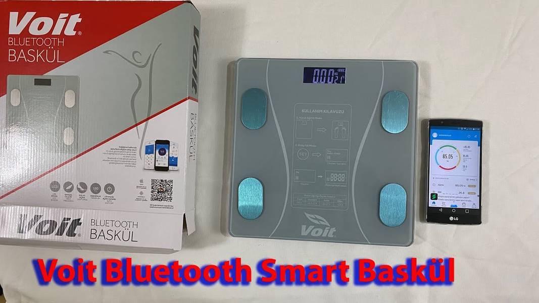 Voit Bluetooth Akıllı Vücut Analiz Dijital Tartı