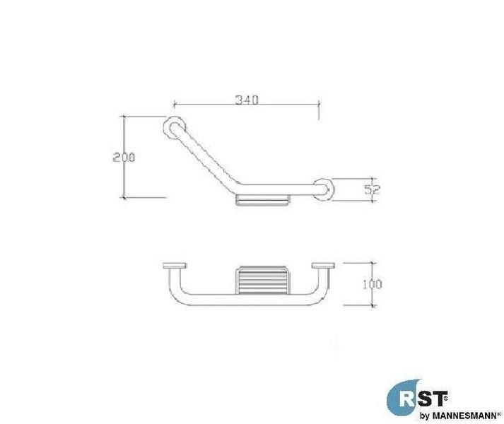 RST® MANNESMANN Süngerli Küvet Tutamağı - 304 Paslanmaz Çelik fiyatı