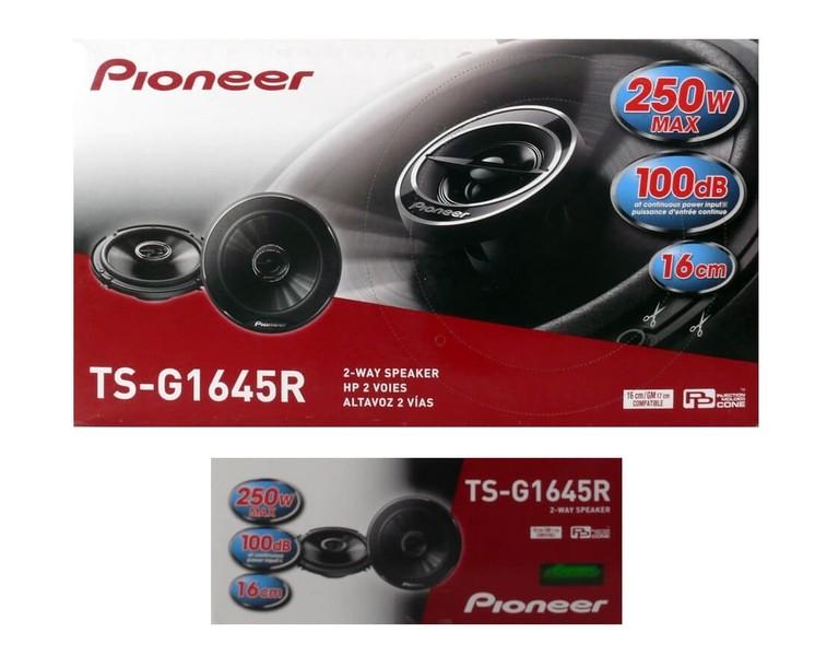 Pioneer Ts-G1645R 250W 16Cm Tweeter Li Hoparlör Oto Hoparlör
