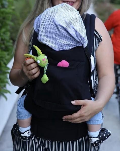 Ergonomik Kanguru Bebek Taşıma Siyah Renk fiyatları
