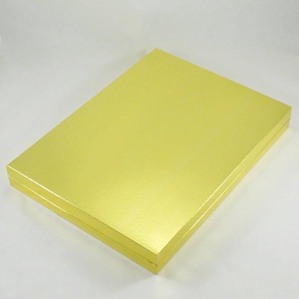 24 Bölmeli Madlen Çikolata Kutusu Gold (Altın) Renkli Hediyelik Çikolata