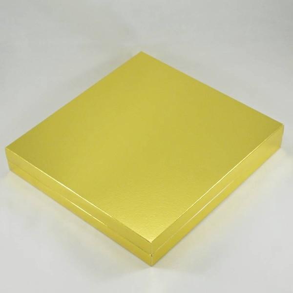 16 Bölmeli Madlen Çikolata Kutusu Gold (altın) Renkli fiyatı