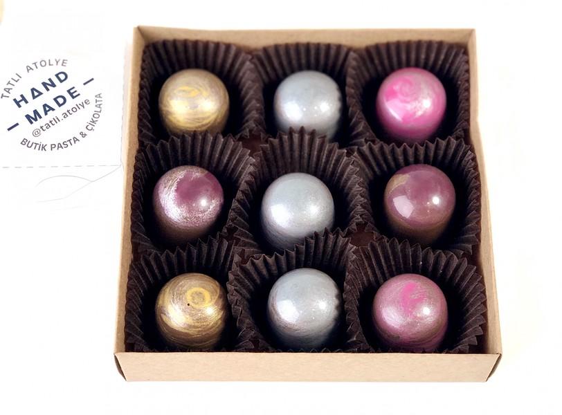 Sütlü Çikolatalı Marhmallow Dolgulu 550 gr fiyatı