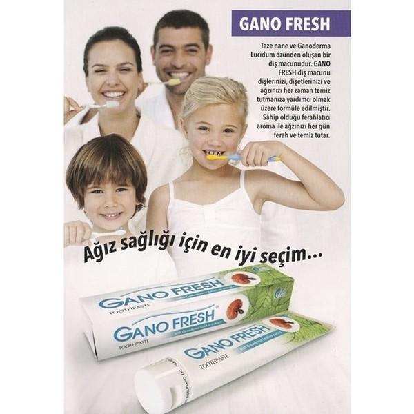 Gano Fresh Diş Macunu 150 gr Reishi Mantarlı paket fiyatı