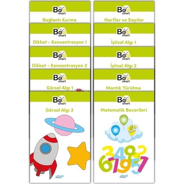 BEE Smart Görsel ve İşitsel Dikkat Seti 2, 3-4, 5-6 , 7-8 Yaş en uygun