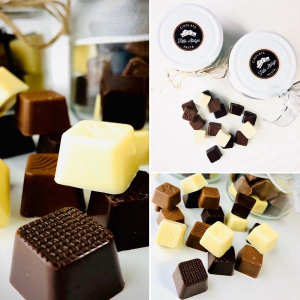 Tatlı Atölye Kavanozda Atıştırmalık Çikolatalar 350 G Hediyelik Çikolata