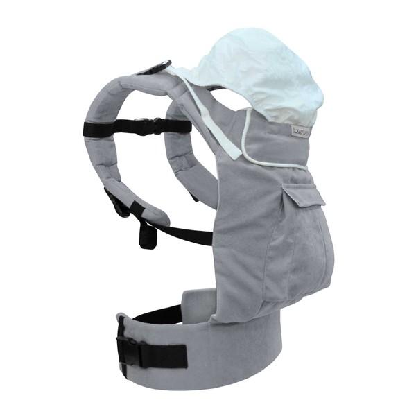 Solo Model İlkaybaby Ergonomik Kanguru - Gri (3Ay-4Yaş) özellikleri