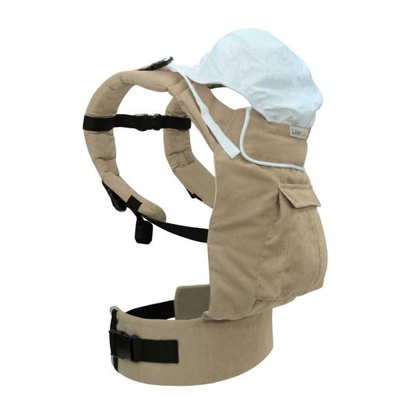Solo Model İlkaybaby Ergonomik Kanguru - Bej (3Ay-4Yaş) özellikleri