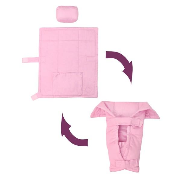 İlkay Baby Handy - Pudra Pembesi Yenidoğan (0-4Yaş) Kanguru