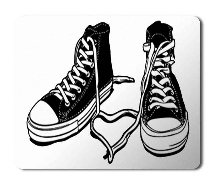 All Star Converse Mouse Pad Mousepad