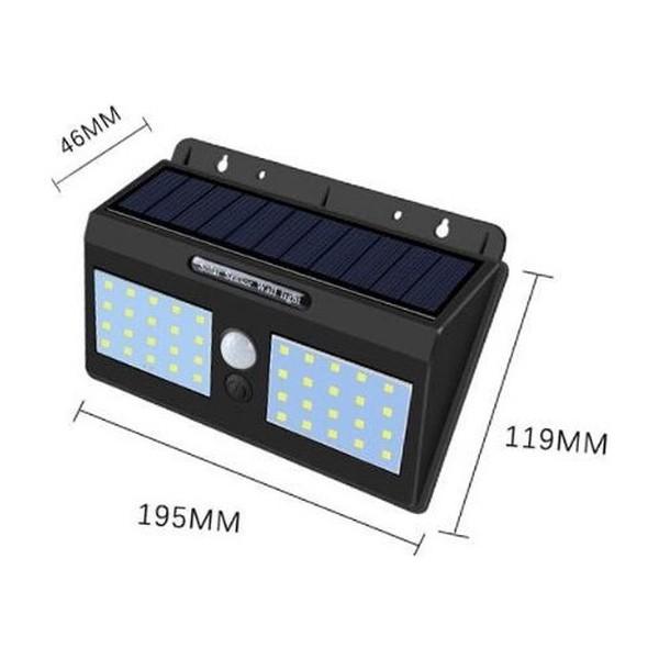 Solar Sensörlü Led Aydınlatma Hareket Sensörlü Aydınlatma 40 Led fiyatı