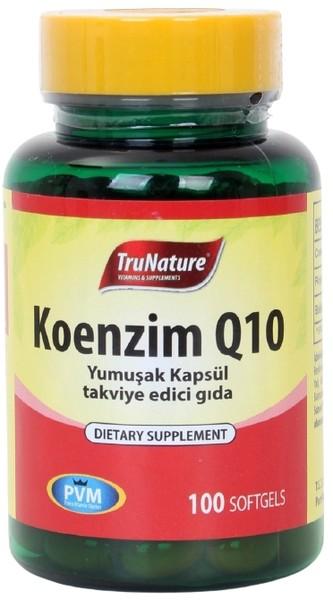 Trunature Coenzyme Q10 Royal Jelly Omega 3 100 Softgel Koenzim
