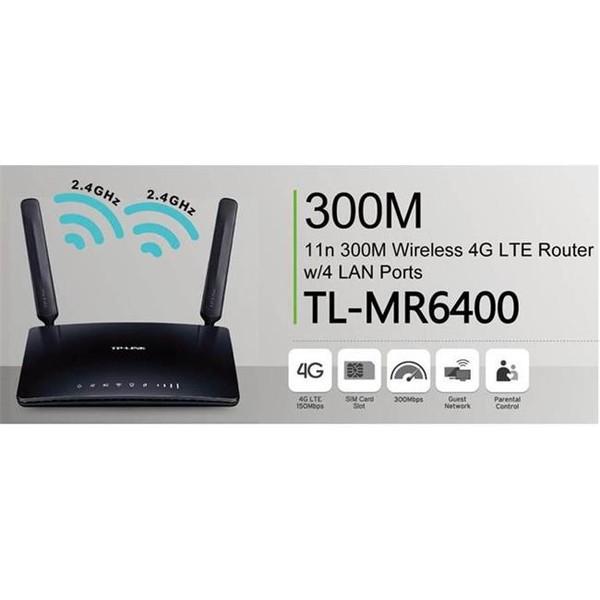 TP-LINK TL-MR6400 300MBPS 3G/4G KABLOSUZ N ROUTER