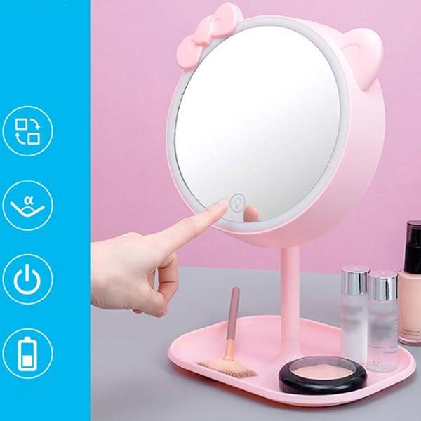 Ezere Makyaj Aynası Led Işıklı Makyaj Lambası Dokunmatık 90 Dere