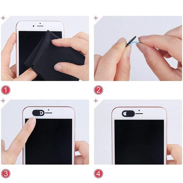 Ally 3 Adet Webcam Cover Notebook Ve Telefon Kamera Kapatıcı Gız marka