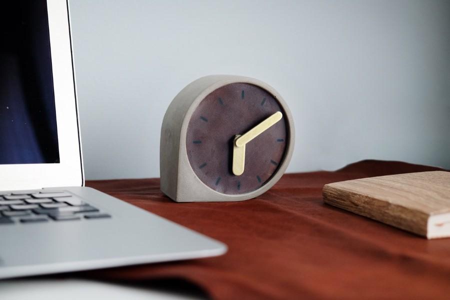Beton damla saat - Pekala Tasarım en ucuz