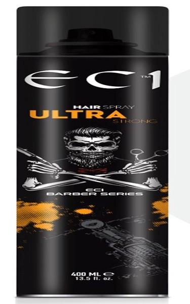 Eci Barber Series Ultra Strong Hair Sprey 400 Ml