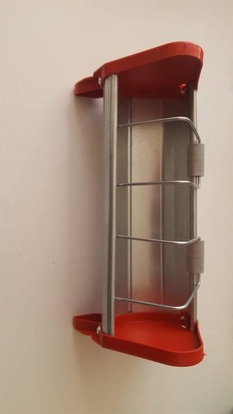 Güvercin , Civciv Ve Bıldırcın  Yemlik 25 Cm  (Metal - Plastik )